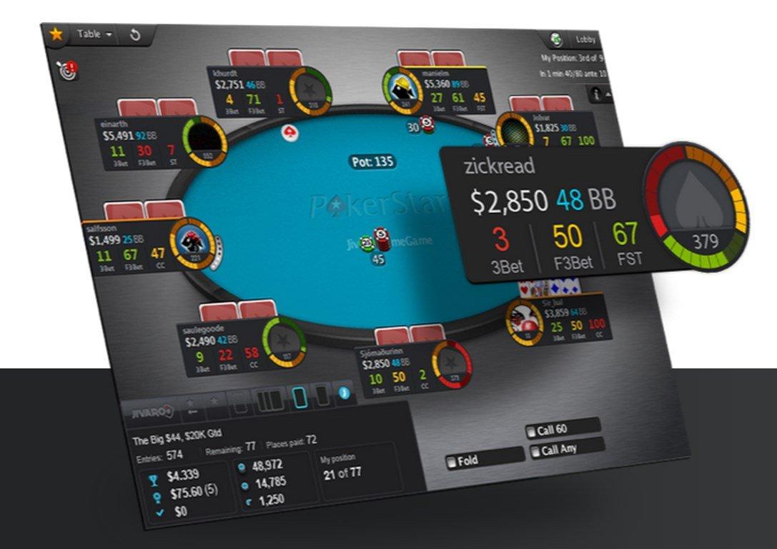 статистика игроков онлайн покер