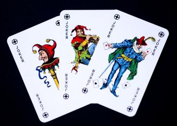 Джокер в покере – комбинации с Джокером