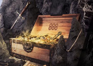Отправляйтесь на поиск сокровищ вместе с 888poker!