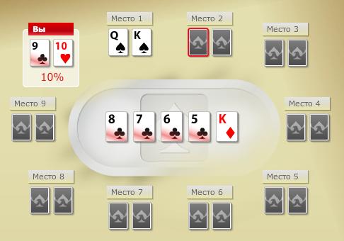 Стрит флеш в покере фото 5