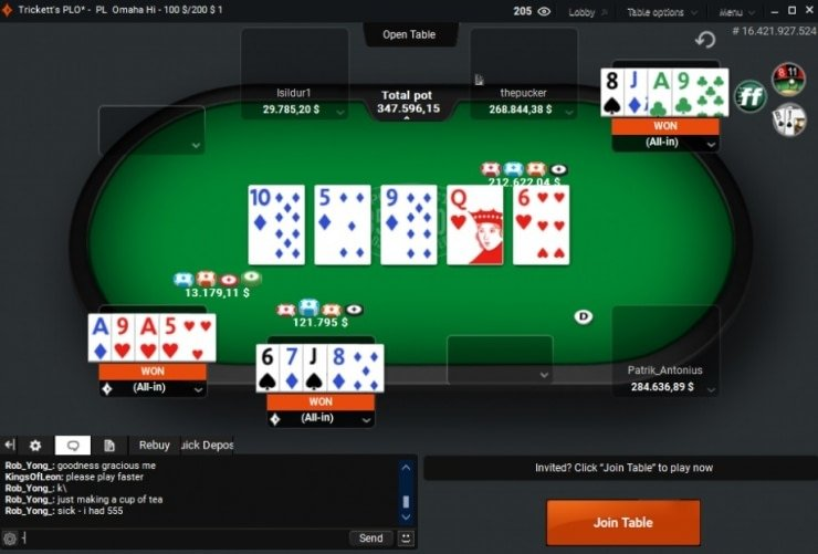 $347.596 - record bank 2017 years in partypoker