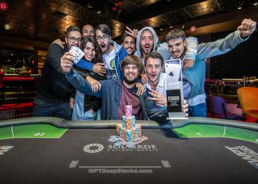 Франциско Лопес получил €55,010 за победу в ME WPT DeepStacks Portugal