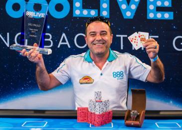 Харольдо Сильва получил $63,862 за победу в ME 888Live Poker Festival