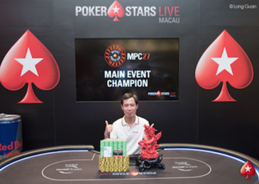 Циуминг Цинь выиграл около $400.000 в ME Macau Poker Cup
