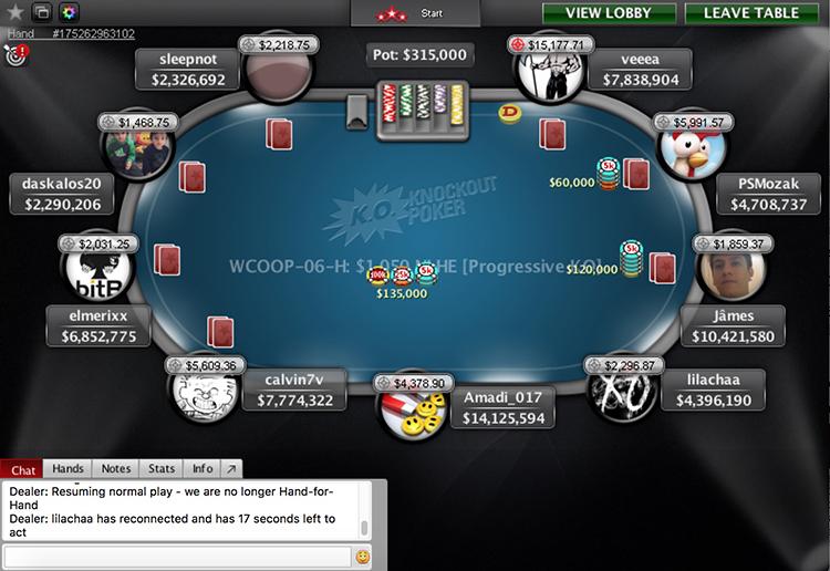 WCOOP-06-H finale table