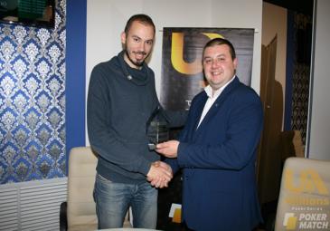 Андрей Момот победитель PokerMatch Ukraine Championship