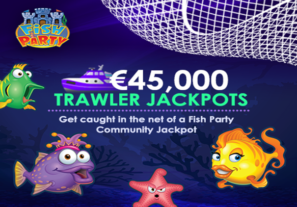 Fish Party Trawler Jackpot RedStarPoker