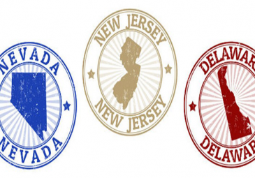 New Jersey, Nevada and Delaware pools players
