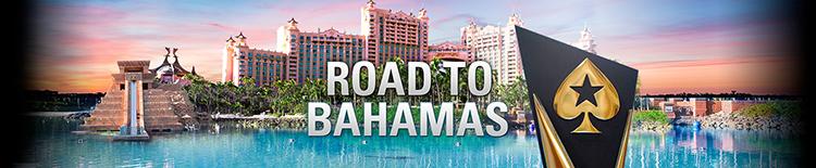 Road to Bahamas Poker Stars