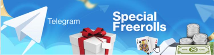 Telegram Special Freerolls RedStar Poker
