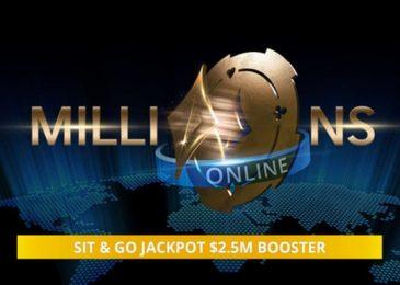 Partypoker разыграет дополнительные $2,500,000 для чемпиона MILLIONS Online