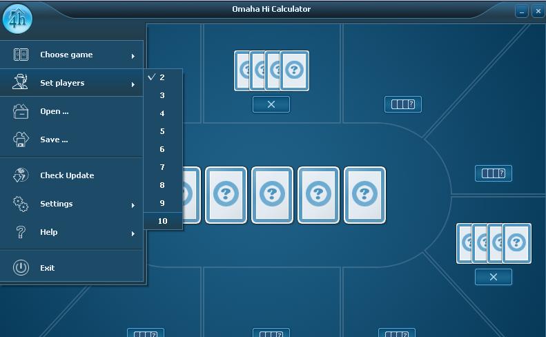 программы расчет бесплатные для покера вероятности онлайн