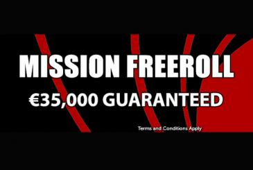 €35,000 Mission Freeroll