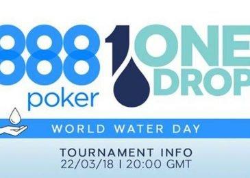 888poker и One Drop организовали благотворительный турнир