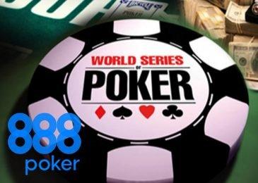 888poker разыгрывает пакеты на два турнира WSOP 2018