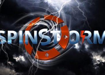 Акция «SPINSTORM» на partypoker: денежные призы до $1,500 и билеты в Spins