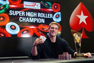 Alex Foxen win Super High Roller APPT