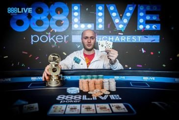 Andrei Racolta win ME 888poker LIVE Festival Bucharest
