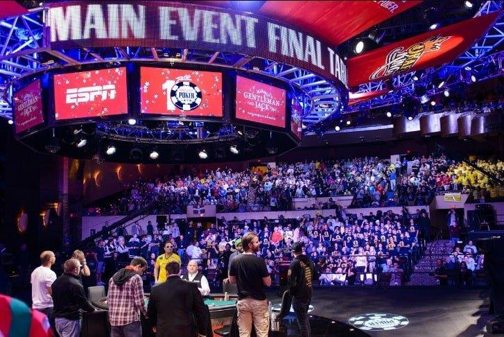 ESPN транслировал финальный стол Главного события WSOP 2018