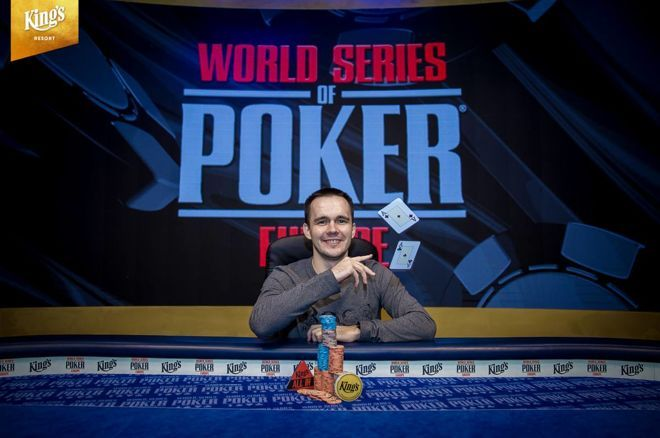 Бодяковский на World Series of Poker Europe 2018
