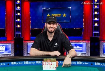 Brian Rast Takes Bracelet Number Four