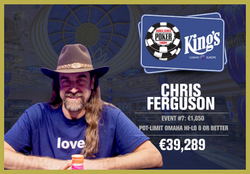 Chris Ferguson win WSOPE Event #7