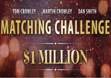 Dan Smith create $1m matching challenge