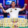 Хоссейн Энсан выиграл Main Event WSOP 2019 и получил $10,000,000