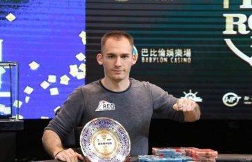 Justin Bonomo Wins Super High Roller Bowl China