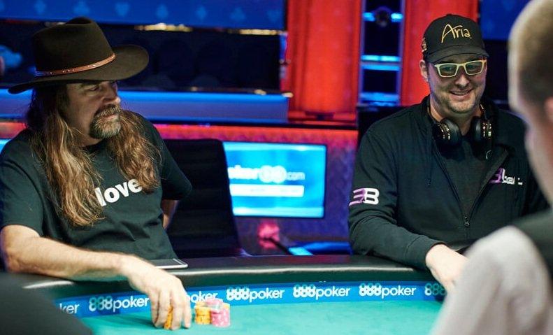 Крис Фергюсон и Фил Хельмут на WSOP 2018