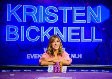 Кристен Бикнелл выиграла турнир за $25,000 и стала первой девушкой с титулом серии Poker Masters