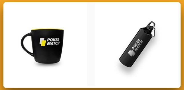Кружки и бутылки PokerMatch