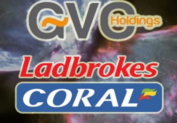 Ladbrokes Coral to be taken over by GVC Holdings