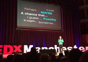 Лив Боэри выступила на конференции TEDxManchester