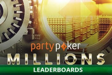 MILLIONS Online leaderboards PartyPoker