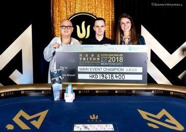 Никита Бодяковский выиграл $2,499,185 в Main Event Triton Poker Super High Roller