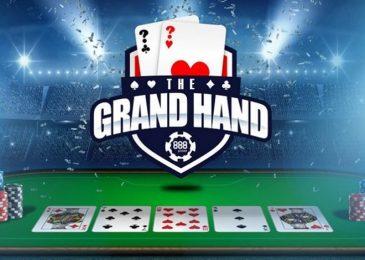 На 888poker проходит акция Grand Hand с призами до $1,000