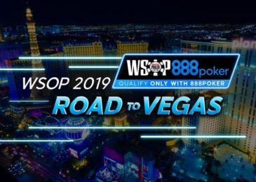 На 888poker проходят сателлиты на WSOP 2019