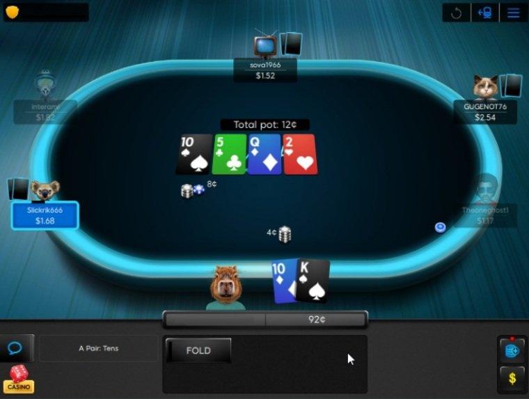 Обновленный клиент Poker 8