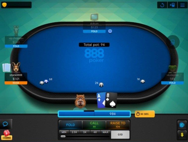 Обновленный таймер в Poker 8