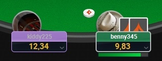 PartyPoker new table 3