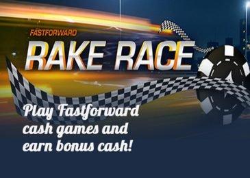 Partypoker проведет Fastforward Rake Race