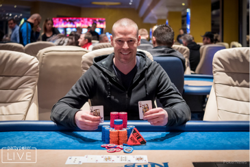 Patrik Antonius win €25,000 Super High Roller