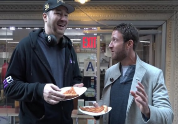 Phil Hellmuth Appears on Barstool Pizza Review