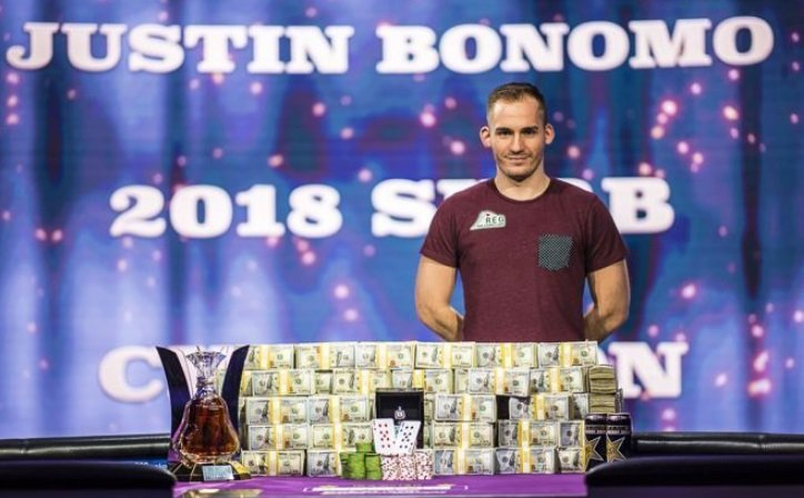 Победа Бономо на Super High Roller Bowl