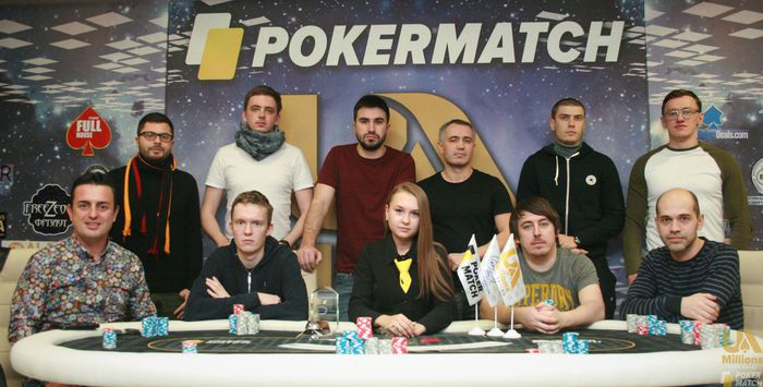 PokerMatch Ukraine Championship final table