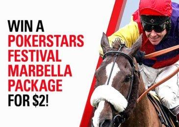 Выиграй пакет всего за 2 евро на Главное событие PokerStars Festival Marbella