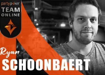 Райан «RSchoonbaert» Шунберт присоединился к partypoker Team Online