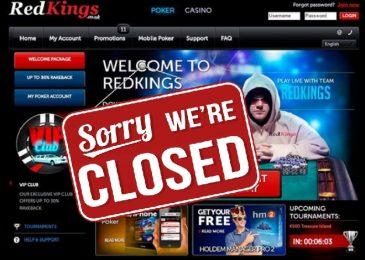 RedKings закрывает покер-рум и ставки на спорт