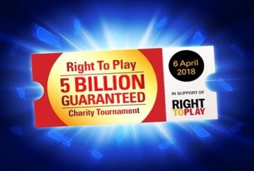 Right To Play Charity Event PokerStars